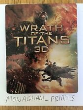 Wrath of the Titans 3D Steelbook - Blu-Ray G2