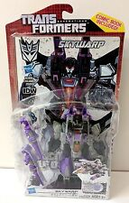TRANSFORMERS SKYWARP ACTION FIGURE DELUXE CLASS IDW GENERATIONS 30TH ANN. HASBRO