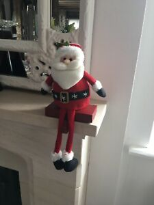 Santa Stocking Hanger Gisela Graham Hook