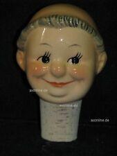 +# A002723_13 Goebel Archiv Muster Flaschenstöpsel Friar Tuck Kopf mit Korken
