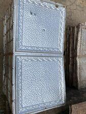 "Antique Metal Tin Ceiling Tile 48"" X 24"" (B2C)"