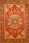 Hand-knotted Rug (Carpet) 4'1X5'11, Serapi mint condition