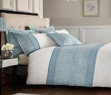Catherine Lansfield Home Ornate Jacquard Embellished Duvet Cover Set Cream Single
