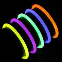 Colorful Glow Stick Disposable Light Stick Flash Stick Toy Party Favors Neon