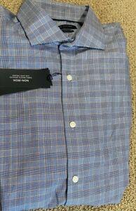 Tommy Hilfiger Mens Slim Fit Button Down Stretch Dress Shirt Top 17 X 34/35 NWT