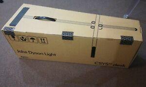 Jake Dyson Csys Putty / Silver - Modern Desk Lamp Light