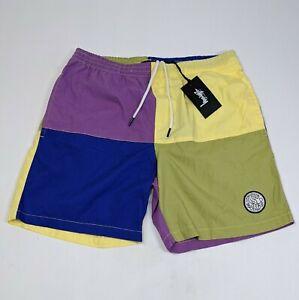 Stussy Men's Size 32 multi coloured Shorts BNWT Casual Short