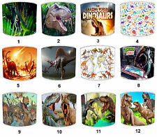 Lampshades Ideal To Match Dinosaurs Duvets Dinosaurs Wall Decals T Rex Wallpaper