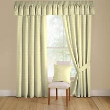 Montgomery Natural Nico Lined Curtains Pencil Heading 90 X 90 Ss06 46