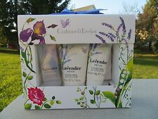 NEW - Crabtree & Evelyn Lavender Body Care Travel Size Set