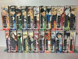 NARUTO Vol.1-24 Complete Lot Full Set Combini manga books Japanese Anime Comics