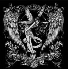 Royal Silver Fairy Tattoo T-Shirt PLUS SIZE -or- SUPERSIZE T419F Rhinestone