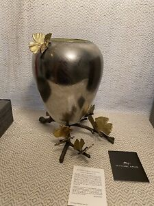 Michael Aram Butterfly Ginkgo Vase $450