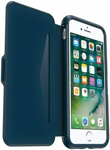 OtterBox Symmetry Series Etui Folio Protection Case for iPhone 7/8 & SE 2nd-Blue