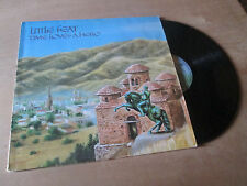 LITTLE FEAT time loves a hero LOWELL GEORGE / SAM CLAYTON & .. WEST COAST Lp 77