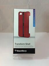 4 x Genuine BlackBerry Z10 Red Battery Back Cover Case Transform Shell