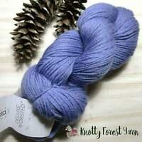 Pure Wool Yarn PERIWINKLE BLUE Deluxe Worsted by Universal Yarn 220yd It Felts