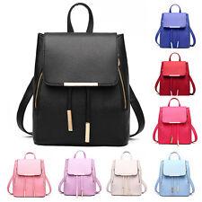 Fashion School Bag PU Leather Backpack Satchel Shoulder Bag Rackpack Shoolbag