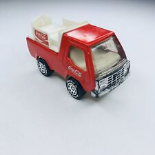 RARE Vintage Buddy L Coca Cola Delivery Truck (No Bottles) in Red and White 1982