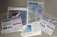 """LOT OF 5 SETS ASSORTED REPLACEMENT MULTI USE ELECTRODE TENS EMS PADS 2"""" x 2"""