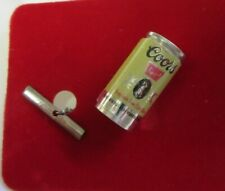 New listing Vintage Coors Beer Can Tie Tack Pin Advertising Nos