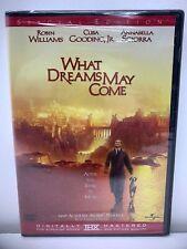 What Dreams May Come Dvd 1998 Drama Annabella Sciorra Robin Williams New Sealed