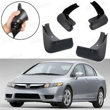 Car Mud Flaps Splash Guard Fender Mudguard Black for Honda Civic Sedan 2006-2011
