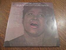 album 2 33 tours mahalia jackson sings america's favorite hymns