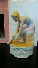 Schmid 1991 Musical Collectibles Ballerina Music Box Song Music Box Dancer New