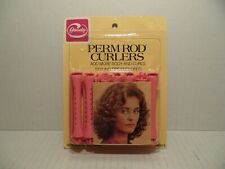 Vintage Goody Perm Rod Curlers Pink Medium 14 Count 1982 #430/3 NEW sealed!