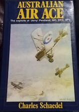 Australian Air Ace Charles Schaedel signed Jerry Pentland Light Horse