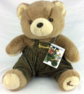 Vintage 70s Harrods Bear With Original Tag Very Rare
