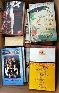 Bücher Buchpaket Karton - 34 Frauen/Liebe etc. - gebraucht