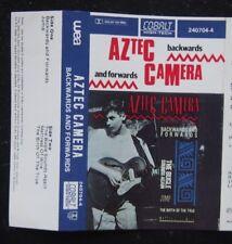 Cassette EP - Aztec Camera, Backwards & Forwards - LIVE - 1985 WEA 240704-4