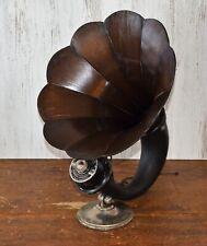 """Vtg (1924) Amplion Ar-19 """"Dragon"""" Horn Speaker w/ Good Driver - Early Tube Radio"""