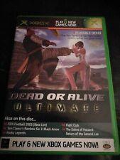 Official Xbox Demo Disc numéro 36 décembre 2004 jeu Xbox UK PAL