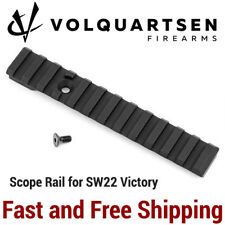 75fca96f18 Volquartsen Picatinny Scope Rail Mount for Smith Wesson S W Victory SW22  Pistol