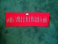 Dental Instruments(24 total)..used,but stainless steel so will last for decades.