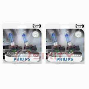2 pc Philips Low Beam Headlight Bulbs for Land Rover Discovery Sport qg