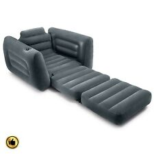 Convertible Chair Bed Sleeper Pull Out Inflatable Folding Air Twin Lounge Couch