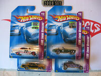 Hot Wheels 2008 RLC Factory Set TEAM:Engine Revealers Chevy & More   ALL 4 CARS
