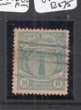 Dominican Republic SC O12 Inverted A in Centavos, Rare VFU (1dna)