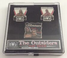 Collectible Limited Edition Pins Set, Wrestling nWo The Outsiders Nash & Hall