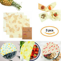 Reusable Food Wrap Cling Film Sustainable Bee Wax Food Preservation Cloth