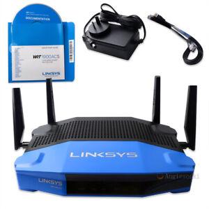 Cisco WRT1900ACS V2 Router - Dual Band AC Gaming Gbit USB VPN Firewall OpenWRT