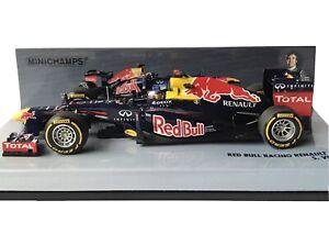 Minichamps 410120001 Red Bull Renault RB8 S.Vettel World Champion F1 2012 1:43