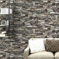Brick Wallpaper 3D 10M Roll Wall Paper Background Living Room TV Bedroom Decor