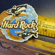 Hard Rock Cafe Hong Kong Rubber  Magnet  Save The Whale