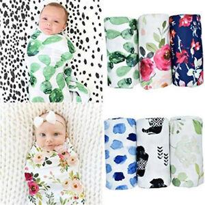 Newborn Infant Baby Boy Sack Swaddle Sleeping Bag Swaddle Muslin Wrap Swaddle
