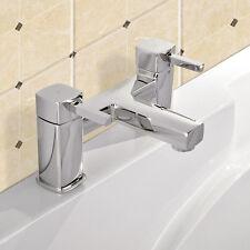 Nova Cromo Baño Relleno Grifo Mezclador de Baño - 2 agujeros de tap